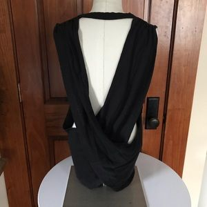 Free people movement open back tank L NWT